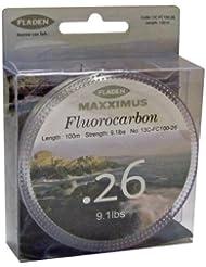 Fladen Maxximus Fil de pêche Fluocarbone Transparent 100 m 9.1 lb/4,1 kg