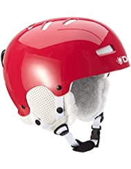 TSG Helm Lotus Solid Color - Casco de esquí, color rojo, talla L/XL