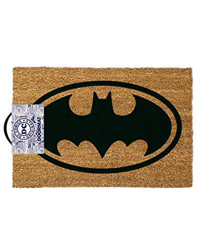 Horror-Shop Original Batman Fußmatte als Deko & Geschenkartikel für Superhelden Fans