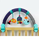 Dearmy 67cm Baby Rattles Mobiles Infant Baby Crib Stroller CM© toy 0-12 months Musical Pram Bed Hanging Appease Comfort Stuffed Plush Animal Early Learning Development Gifts With BB Device (no retail box)