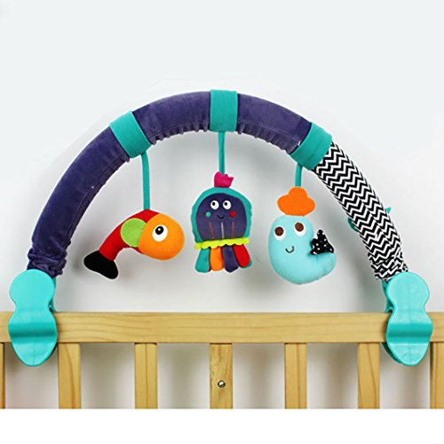 Coupon Matrix - Dearmy 67cm Baby Rattles Mobiles Infant Baby Crib Stroller CM© toy 0-12 months Musical Pram Bed Hanging Appease Comfort Stuffed Plush Animal Early Learning Development Gifts With BB Device (no retail box)
