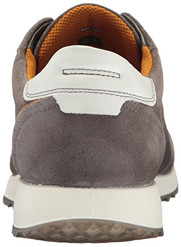 Ecco Sneak Men's, Baskets Basses Homme Gris (50252Warm Grey/Dried Tobacco)