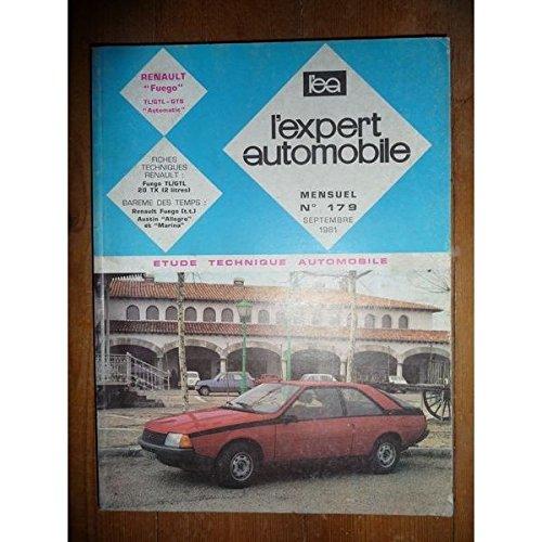 Renault Fuego TL, GTL, GTS, Automatic : Revue technique l'expert automobile N° 179