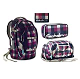 Satch Pack - Set 4 tlg. - Berry Carry - Schulrucksack + Sporttasche + Schlamperbox + Geldbörse