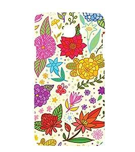 printtech Floral Flower Design Back Case Cover for Samsung Galaxy Grand 3 G720 / Samsung Galaxy Grand Max G720