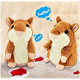 Malloom Plush Toys,2017 New Style Talking Hamster Electronic Pet Talking Plush Buddy Mouse For Kids
