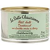 La Belle Chaurienne Petit Salé Traditionnel aux Lentilles Vertes du Berry 420 g - Lot de 3