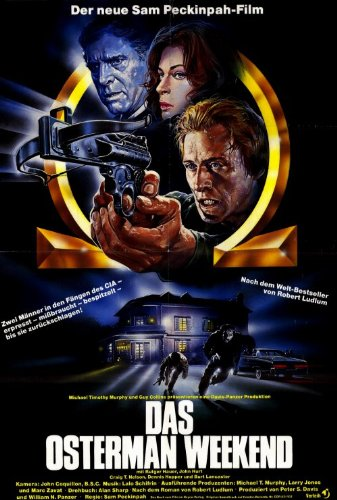 The Osterman Weekend Plakat Movie Poster (27 x 40 Inches - 69cm x 102cm) (1983) German