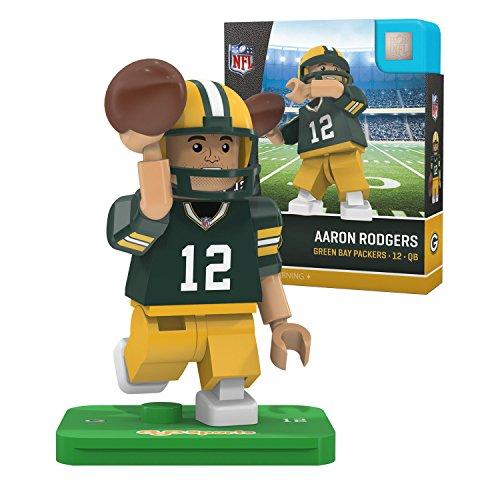 L Aaron Rodgers OYO Mini Figure (Green Bay Packers Uniform)