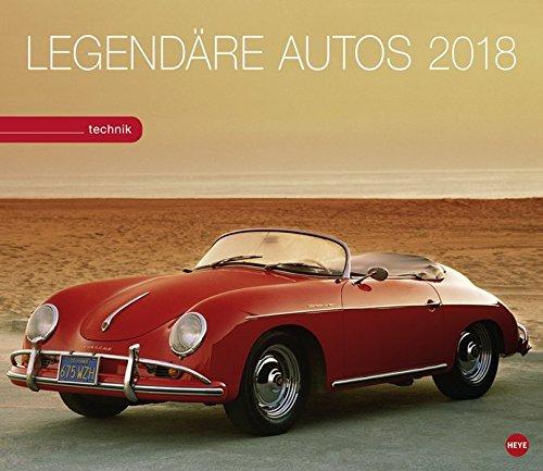 Legendäre Autos - Kalender 2018