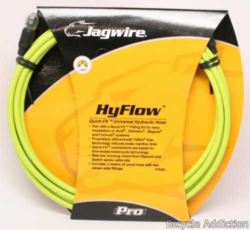 jagwire-hyflow-disc-hose-ergon-green-3000mm-requires-jagwire-hyflow-quick-fit-kit-by-jagwire