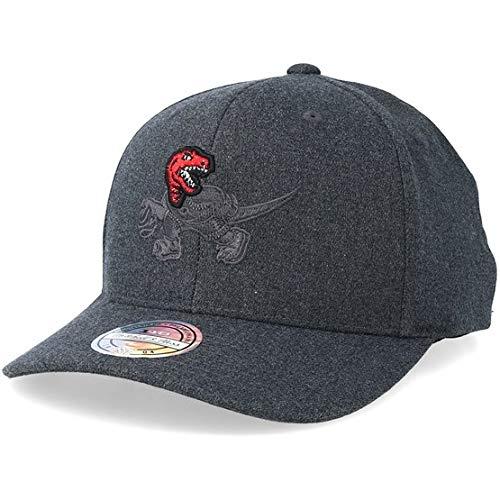 Mitchell & Ness Toronto Raptors Baseball Cap Decon - Grau - Einstellbar Toronto Raptors-fan