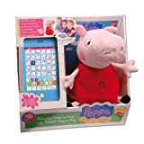 Peppa Pig Peluche Interactive with Tablet (Bandai 84268)