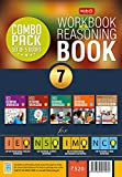 Class 7: Work Book and Reasoning Book Combo for NSO-IMO-IEO-NCO