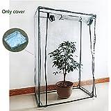 Yunhigh cubierta de plástico mini invernadero de interior para planta en maceta, como tomate fresa