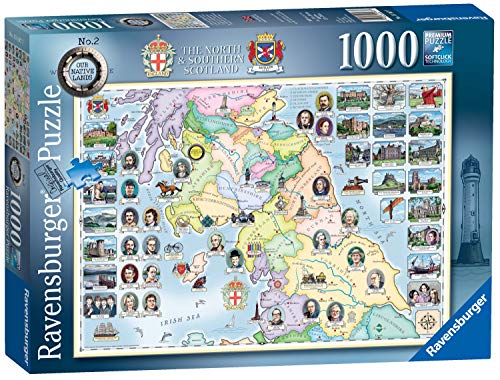 Ravensburger Our Native Lands No.2 - The North & South Scotland, 1000 Teile Puzzle