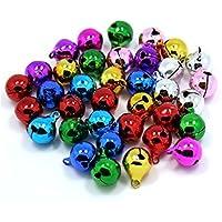 Youkara 100x Campanas Coloridas de las Decoraciones de la Navidad para el Banquete de Boda