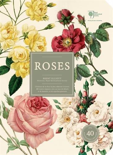 Roses : L'histoire de la fleur la plus admirée à travers 40 rosiers majeurs, avec un luxe de détails et de données et 40 superbes gravures - Coffret avec 40 gravures à encadrer