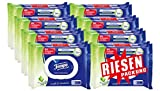 Tempo Toilettenpapier feucht Sanft und Sensitiv, 16x42 Tücher