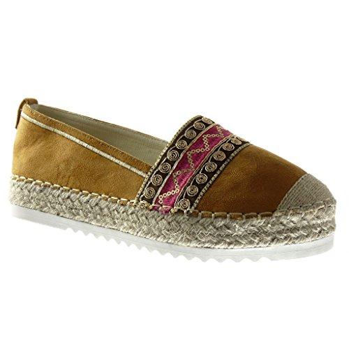 angkorly-zapatillas-de-moda-alpargatas-mocasines-zapatillas-de-plataforma-slip-on-mujer-bordado-cuer