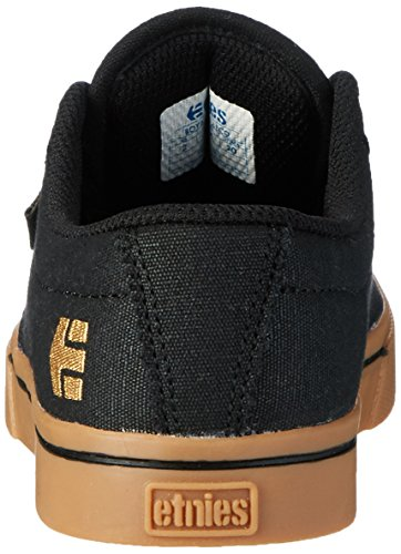 Etnies Kids Jameson 2 Eco, Chaussures de Skateboard mixte enfant Black (Black/Tan)