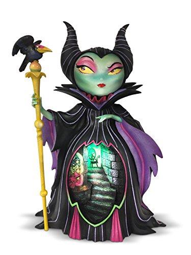 esents Maleficent Figurine, Resin, Multicolour, 17.5 x 14.5 x 26 cm ()