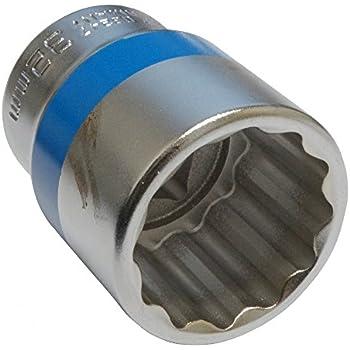 Douille de vissage 3//4 12 pans 27mm haute qualité professionnelle en acier Cr-V