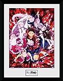 Re:Zero - Starting Life in Another World - Key Art Poster da Collezione Incorniciato (40 x 30cm)