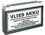 6V Vlies Akku Wartungsfrei 12 Ah Batterie Simson Moped inkl. € 7,50 Pfand (1-021)