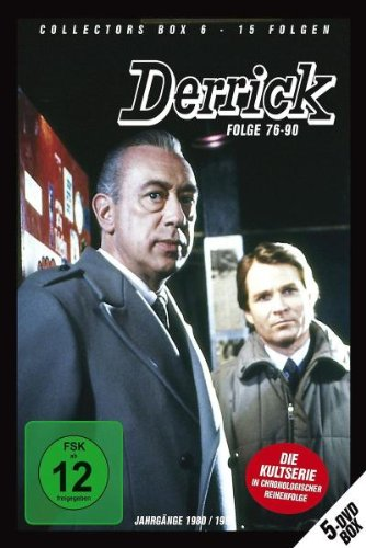 Derrick - Collector's Box Vol. 06 (Folge 76-90) [5 DVDs] -