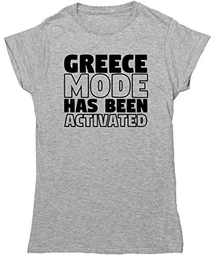 HippoWarehouse Damen T-Shirt X-Large Grau