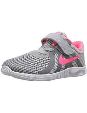 NIKE- - Nike Revolution 4 (TDV) Bebé-Niñas Unisex Niños