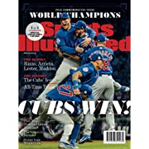 Sports Illustrated Chicago Cubs 2016 World Series Champions Commemorative Issue - Team Celebration Cover: Cubs Win!