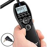 ayex Minuteur Déclencheur/Télécommande pour Canon EOS 60D, 600D, 550D, 500D, 450D.