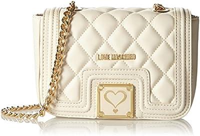 Love Moschino JC4013, Bolsa de Medio Lado para Mujer, 8x13x28 cm (B x H x T)