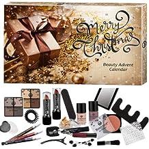 Super elegant Cosmetic Make-Up Beauty Advent Calendar Surpris 24Pieces Wow (E628)