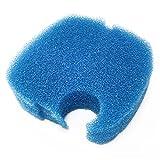 SunSun Ersatzteil für Aquariumaußenfilter HW-703AB Blauer Schwamm 2 cm Filter Aquarium