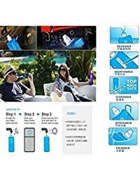 Tradico® Foldable Drinking Water Bottle Pouch Hiking Camping Water Bag