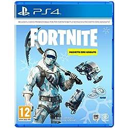 Fortnite: Pacchetto Zero Assoluto - Playstation 4 [Codice per download online]
