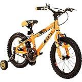 Difiori Kinderfahrrad 16 Zoll Kinder Fahrrad Jungen Firefly 16