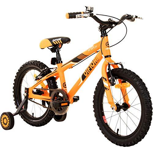 """Difiori Kinderfahrrad 16 Zoll Kinder Fahrrad Jungen Firefly 16"""" Stützräder ab 4"""