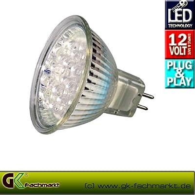 LED 20x, 12V 2W, warm weiß von Techmar bei Lampenhans.de