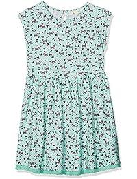 Yumi Ditsy Scotty Dog Dress (Mint), Vestido para Niños