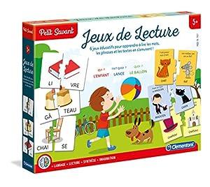 Clementoni 62550.5 - Juego educativo de lectura para 5 a 7 años (versión en francés)