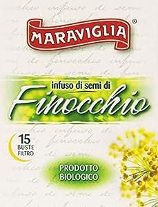 Maraviglia - Infuso Di Semi Di Finocchio, Prodotto Biologico - 15 Buste Filtro