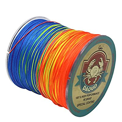 Daoud 8 strands braided fishing line SuperPower 300M (327 Yards)Braid Fishing Line Advanced High Quality Superline Braided Fishing Line from Gainning