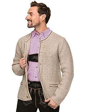 Trachten Strickjacke Magnus3 - modisch elegante Strickjacke für Herren von Stockerpoint, dem angesagten Hersteller...