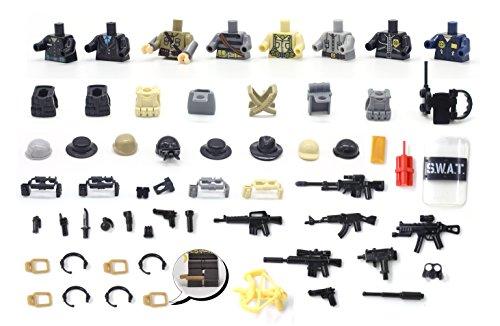 MAGMA BRICK Modern Command Series - Commando Kostüm für Lego Miniaturen