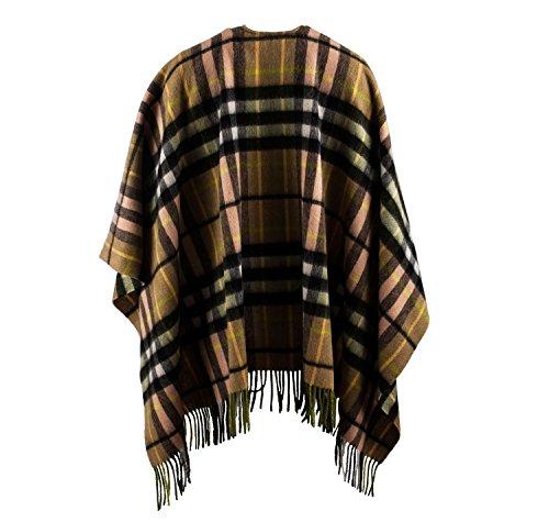 Edinburgh 100% in lana Tartan Scozzese Mini mantello SHERWOOD THOMSON B