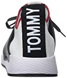 Hilfiger Denim Herren Tommy Jeans Knit Sneaker, Weiß (RWB 020), 41 EU - 2